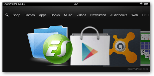 Hoe Google Play en Google Apps op de Kindle Fire HD te installeren