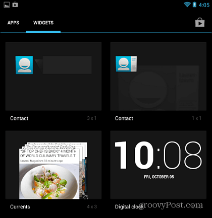 Blijf in contact met uw partner met de Android Contact Widget